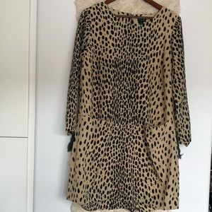 J crew leopard dress